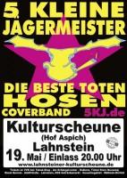 Toten Hosen Tribute - Band 5. kleine Jägermeister
