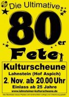 """80er Fete """"Das Original"""""""