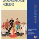 Programmheft für Herbstsemester der vhs-Koblenz