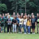 Jugendcamp pflegt Gräber