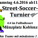 "Streetsoccer-Turnier ""Ballance Rheinland-Pfalz"""