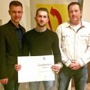 Erfolgreicher Berufsabschluss zum Elektroniker bei der Stadtverwaltung Koblenz