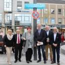 Altlöhrtor: Bauarbeiten abgeschlossen - Platz nach Richard Wilke benannt
