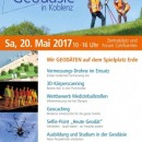 """Tag der Geodäsie am 20. Mai 2017 auch in Koblenz - """"Wir Geodäten auf dem Spielplatz Erde"""" auf der Bühne von """"Koblenz spielt"""""""