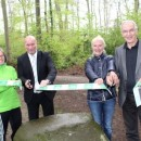 """Neueröffnung des """"AOK Bleib-Gesund-Pfads"""" im Koblenzer Stadtwald"""